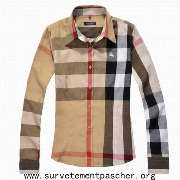 acheter chemise femme marque,chemisier burberry femme vendre
