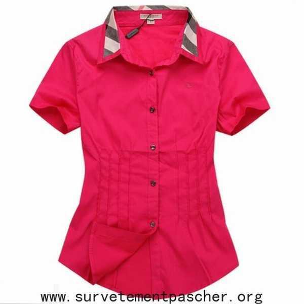 Femme Burberry chemise Chemisier Cher Pas D'occasion iXPkZu