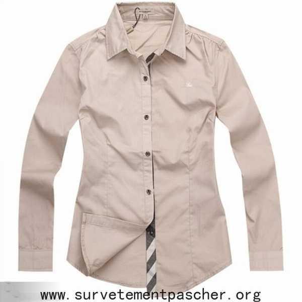 ... magasin chemise femme chemisier burberry brit chemise burberry fille pas dc5acfad4ea